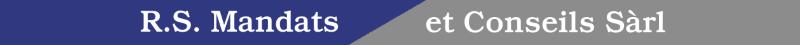 R.S. Mandats et Conseils Sàrl Logo